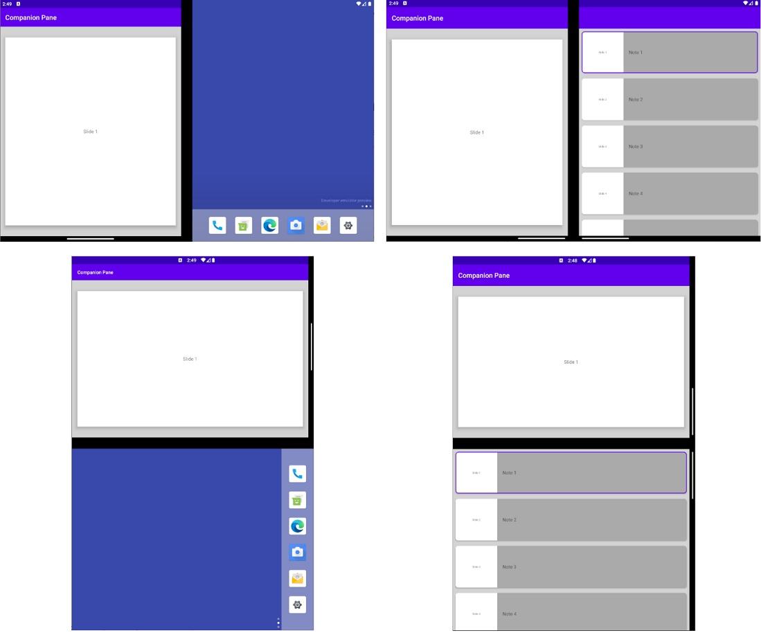 Surface-Duo-app-UI
