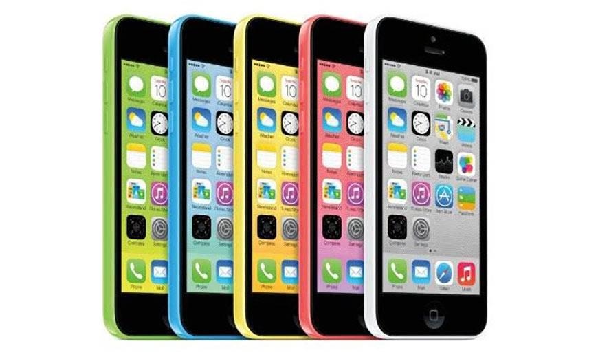 """苹果宣布iPhone 5c为""""老式""""产品,限制支持"""