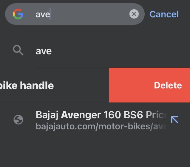 Delete-Search-Term-from-Chrome-iPhone
