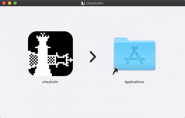 Drag-Cheka1n-to-Application-Folder