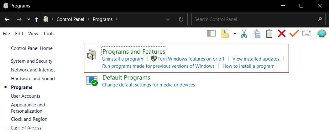 Programs-and-Features-page