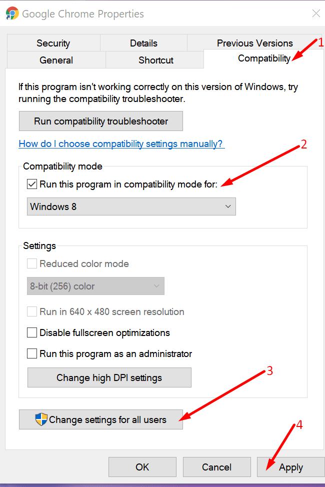 Run-Compatibility-mode-in-Windows-OS