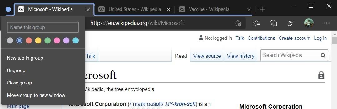Microsoft-Edge-Tab-Groups