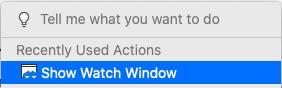 Watch-Window