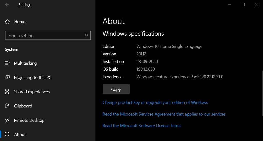 Windows-Experience-Pack