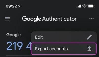 authenticator-export-accounts