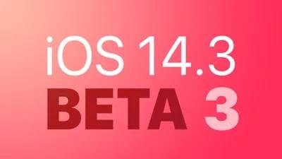 Ios 14.3 Dev Beta 3 Feature