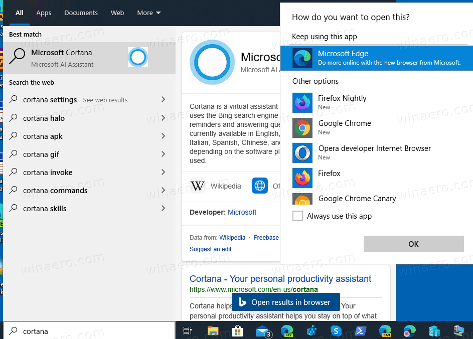 Windows-10-version-2004-Cortana-Removed