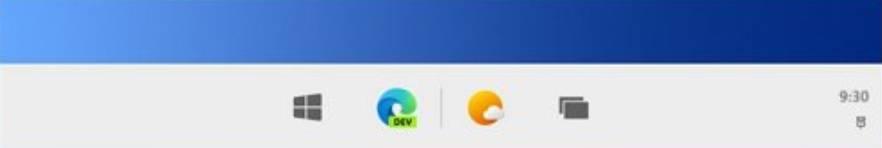 Windows-10X-taskbar