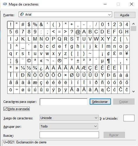 como-usar-el-mapa-de-caracteres-en-windows-10