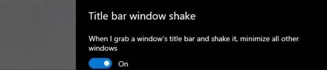 Aero-shake