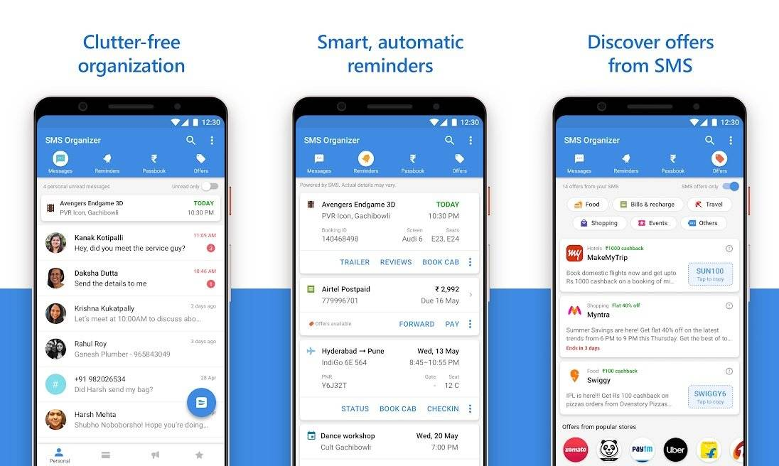 Sms Organizer Android
