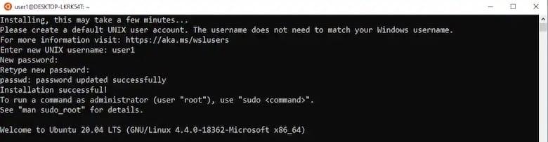 ubuntu-subsystem