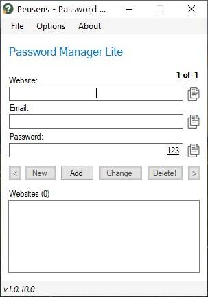 Password-Manager-Lite-is-a-user-friendly-offline-password-manager-for-Windows
