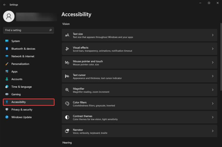 Accesability